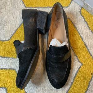 Belle Sigerson Morrison Heeled Loafer Size 9